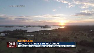 Neighbors fear rezoning fight after decades-old golf course closes in Seminole - Video