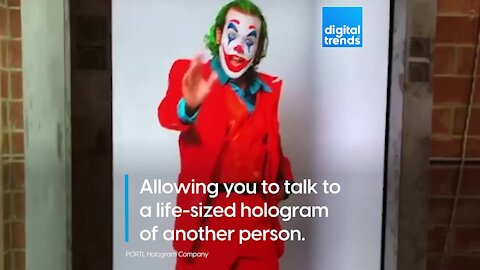 Holograms are becoming portable!