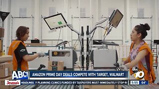 Amazon Prime Day deals compete with Target, Walmart
