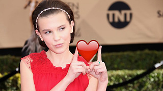 Millie Bobby Brown Receives a SPECIAL Valentine's Gift from an Admirer That ISN'T Jacob Sartorius!