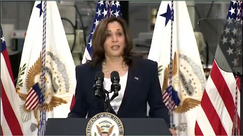 WATCH: Kamala Harris Tries to Be Funny and Fails Miserably