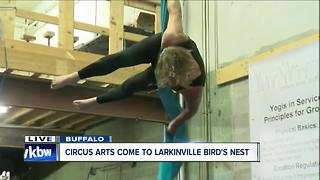 A new way to work out: Circus arts at the Bird's Nest - Video