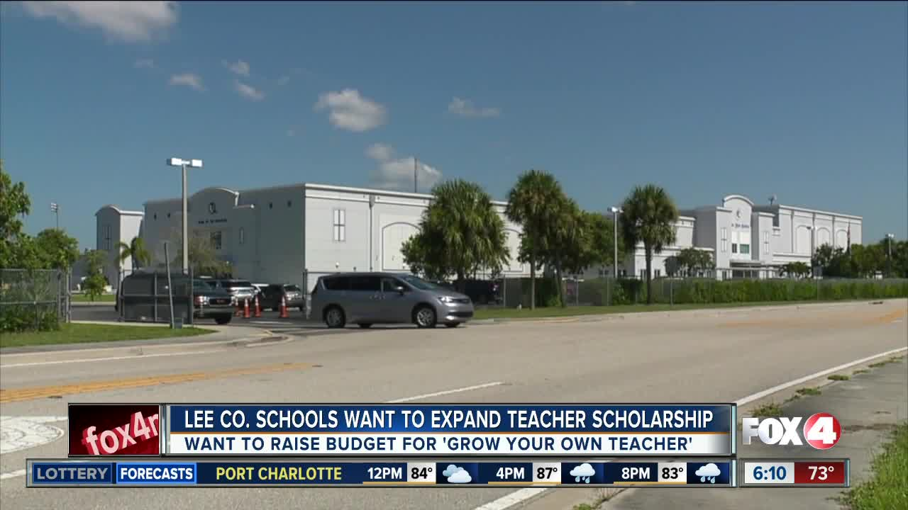 Future Lee County teacher scholarship program