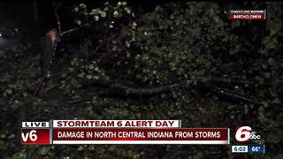 Severe storms batter Muncie - Video