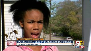 Police ID 3 shot dead in South Cumminsville home - Video