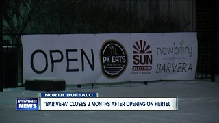 Vera closes Hertel Avenue location just two months after opening