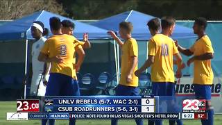 CSUB soccer beats UNLV 1-0 for third straight win - Video