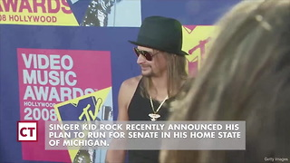Kid Rock Stuns Opponent after Early Poll Numbers Released