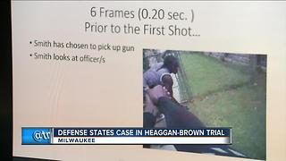 Defense wraps in Heaggan-Brown Sherman Park trial - Video