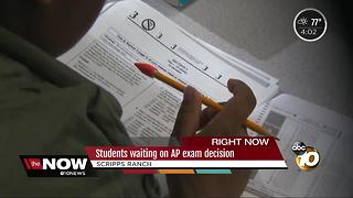 Scripps Ranch students waiting on AP exam decision - Video