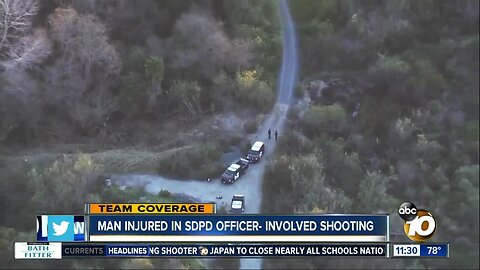 Confrontation in canyon ends in officer-involved shooting