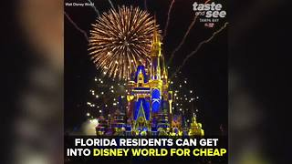 Disney World offering Florida residents limited-time park deal | Taste and See Tampa Bay - Video