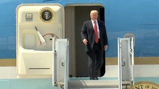 FULL VIDEO: Trump arrives in Yuma - Video