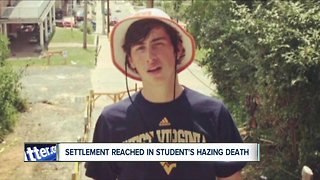 Settlement reached in college hazing death of Williamsville native