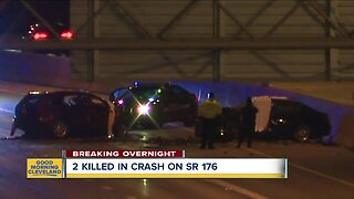 2 killed, 3 hurt in Cleveland crash