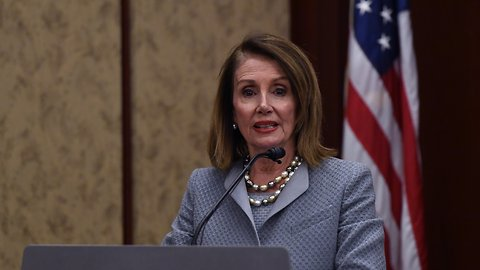 Pelosi Announces Lawsuit To Block Trump's Border Wall