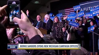 Bernie Sanders opens new Michigan campaign offices