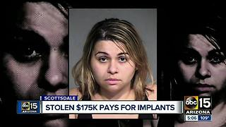 Woman cons man with dementia of $175,000 she then used for implants - Video