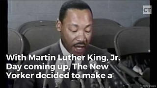 The New Yorker Has Mlk Spinning In His Grave With Cover Tribute - Video