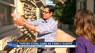 Car thieves strike Valley Forge home while family sleeps - Video