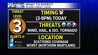 Severe Storms Today