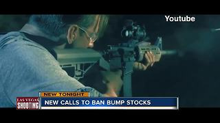 Vegas mass shooting sparks bi-partisan calls to ban bump stocks - Video