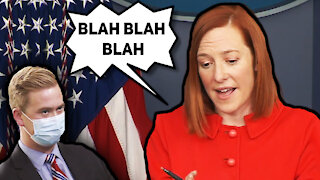 Jen Psaki Dodges Question About Endless Left-Wing Riots in Portland