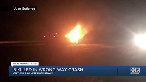 Witness details wrong-way crash that killed 5 people near Morristown