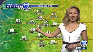 60s and 70s for Denver and the Front Range on Saturday. Another storm to impact Colorado on Sunday - Video