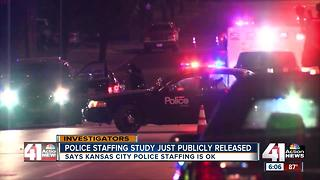 New study: KCPD street cop staffing adequate - Video