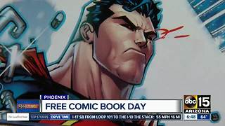 Get free comics, meet Spiderman, and score other discounts for Free Comic Book Day!