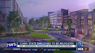 Governor Hogan announces next steps in State Center redevelopment project
