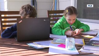 Setting up for at-home learning success