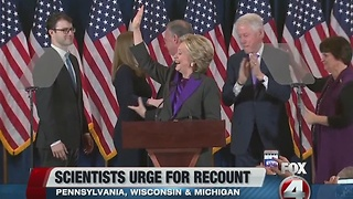 Scientists demand recount for Hillary Clinton - Video