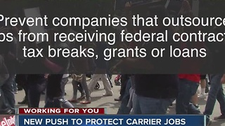Bernie Sanders to propose legislation to keep US jobs - Video