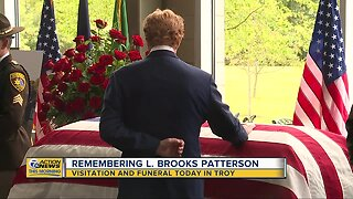 Funeral today in Troy for L. Brooks Patterson