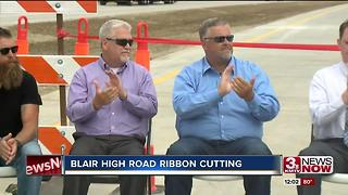 Blair High Road Ribbon Cutting - Video