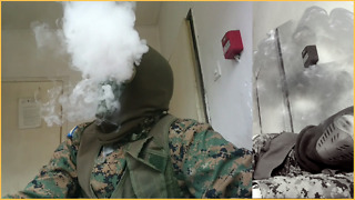 Someone Planted Smoke Grenade Inside My Mask  - Video