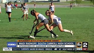 Student athlete Madi Radnoff South Carroll High School - Video