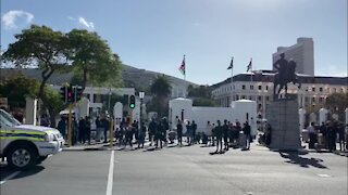 SOUTH AFRICA - Cape Town - Peaceful March Black Lives Matter (Video) (wZT)