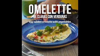 Claras Omelette with Vegetables