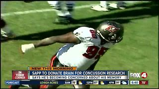 Warren Sapp to donate brain for medical research - Video