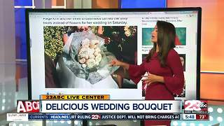 A donut wedding bouquet - Video