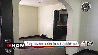 Nonprofit renovates homes for low-income residents in KCMO - Video