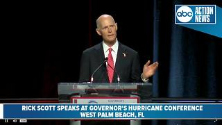 Gov. Scott speaks at hurricane conference in West Palm Beach - Video