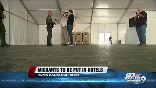Salvation Army closes shelter in Yuma due to fewer migrants