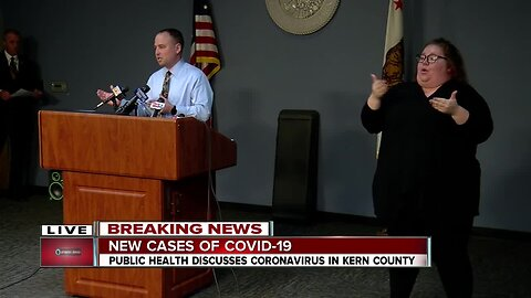 Kern County Public Health Services Briefing: March 30, 2020 at 10 a.m.