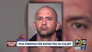 Police identify Phoenix firefighter accused of stealing