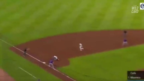 Watch: Braves Third Baseman Pulls Off Fantastic Rarely Seen Double Play