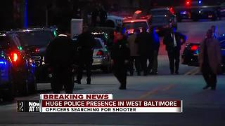 Community reacts to police shooting in West Baltimore - Video